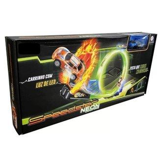 Brinquedo Pista De Carrinhos Speedster Neon Polibrinq PK005