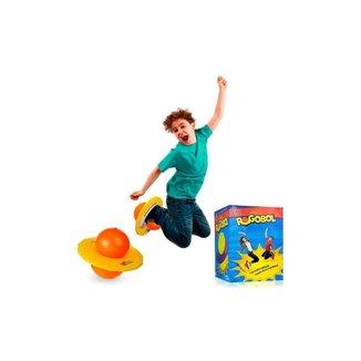 Brinquedo Pogobol - Amarelo E Laranja - Estrela