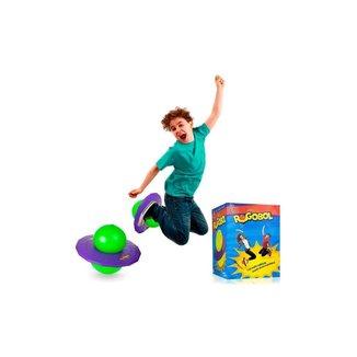 Brinquedo Pogobol - Roxo E Verde - Estrela