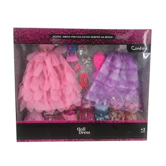 Brinquedo Roupa Acessorios de Bonecas Doll Dress Sortidos