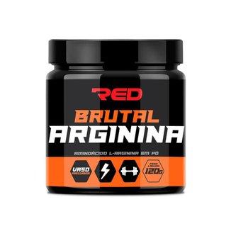 Brutal Arginina 120g Red Series L-arginina Em Pó