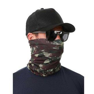 Buff Bandana Com Proteção Uv50 Estampa Camuflado