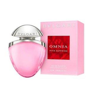 Bvlgari Omnia Pink Sapphire Edt - Perfume Feminino 25ml