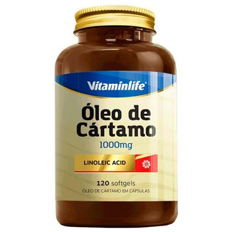 Ca Linoleic Acid 1000 Mg 120 Capsgel Oleo De Cartamo