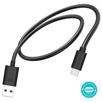 Cabo de Dados e Carga Motorola com Conector Micro USB-C para USB-C 1 metro
