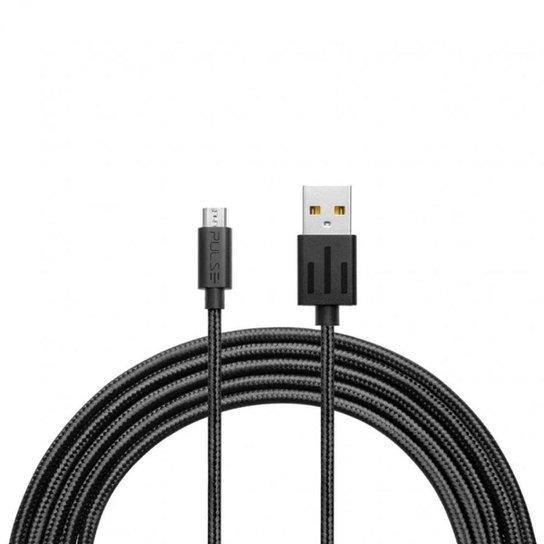 Cabo Pulse Premium Micro Usb 1.5 Metros Wi412 - Preto
