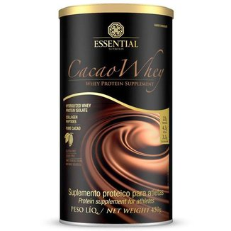 Cacao Whey Essential Nutrition 450g