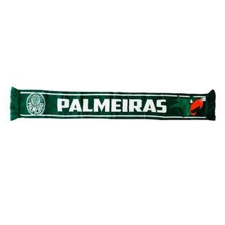 Cachecol Cachecolmania Palmeiras Dupla Face Infantil