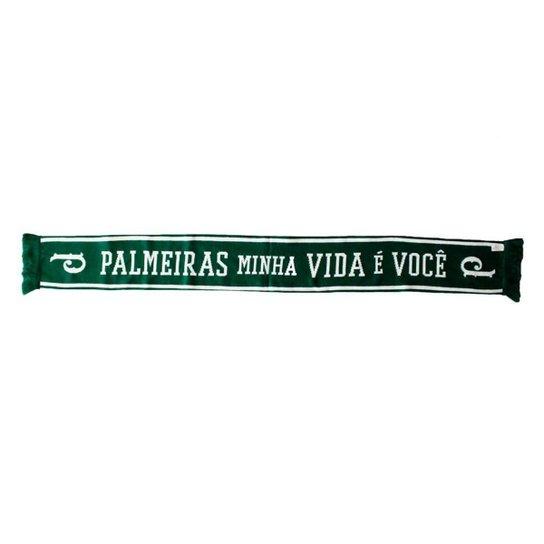 CACHECOL CACHECOLMANIA PALMEIRAS MINHA VIDA É VOCÊ - VERDE UN - Verde