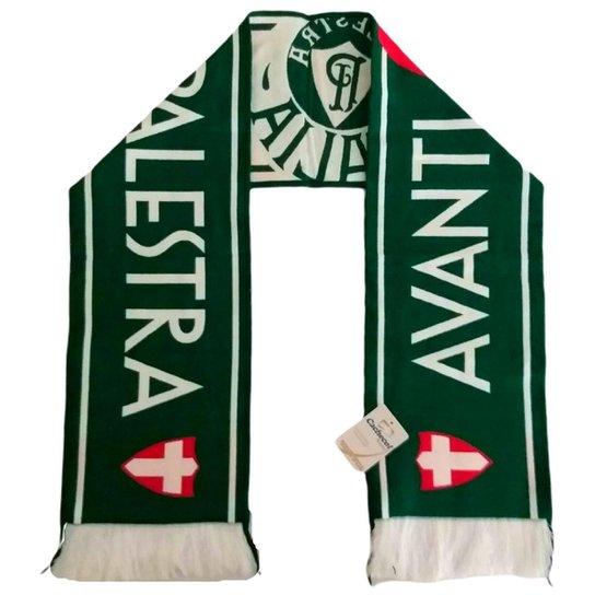 Cachecol Palmeiras Avanti Oficial - Verde+Branco