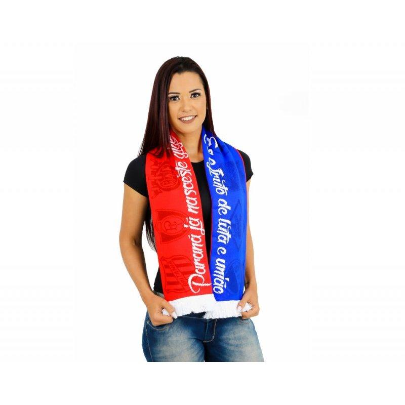 Cachecol Paraná Clube Dupla Face - Azul - Compre Agora  667d04da220e0
