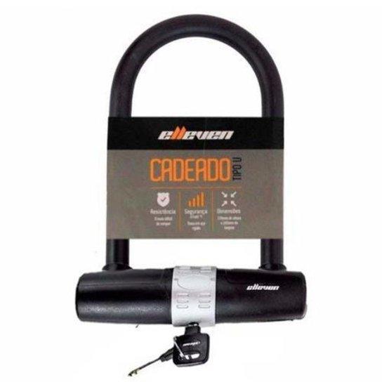 Cadeado Trava U-Lock 1,70x245mm Elleven - Preto
