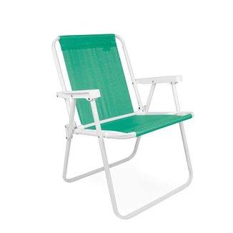 Cadeira Alta Aço Anis