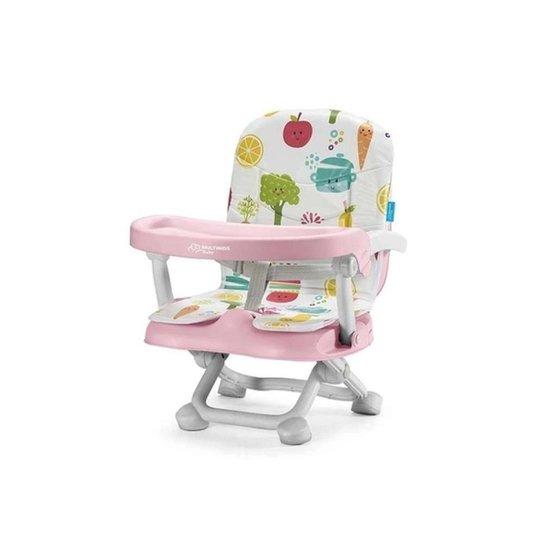 Cadeira de Alimentação Portátil Multikids BB604 - - Rosa