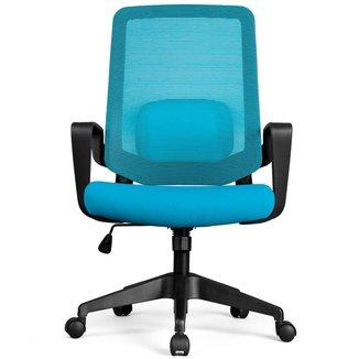 Cadeira de Escritório DT3 Office Verana V2 - Azul - 12073-3