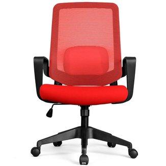 Cadeira de Escritório DT3 Office Verana V2 - Vermelha - 12076-6