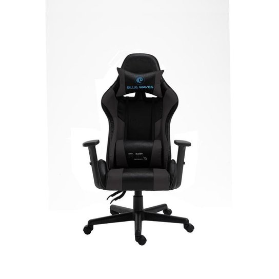 Cadeira de escritório Gamer Ergonômica Giratória Reclinável 180 Graus - Preto