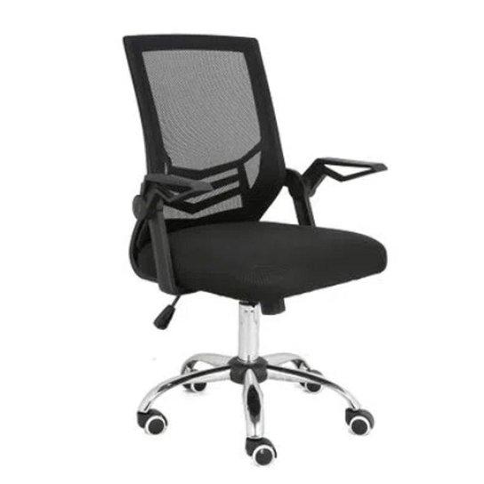 Cadeira de Escritório Multilaser Adapt Giratória GA204 - Preto