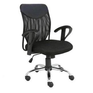 Cadeira de Escritório Presidente Lift Braço Ajustável Ga203