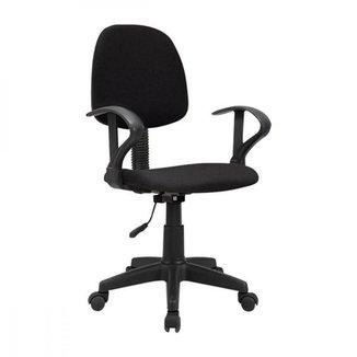 Cadeira de escritório Start Giratória Preta Multilaser - GA209