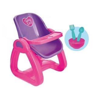 Cadeira de Papinha para Boneca Usual Brinquedos