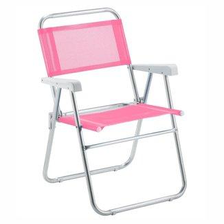 Cadeira De Praia Amvc Sun Aluminio