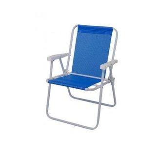 Cadeira de Praia MOR Alta Sannet Azul - Ref.2283