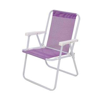 Cadeira de Praia MOR Alta Sannet Lilás - Ref.2288