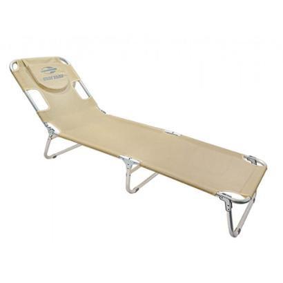 Cadeira Espreguiçadeira em Alumínio Mormaii - Unissex