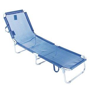 Cadeira Espreguiçadeira Textilene Alumínio 5 posições Bel Lazer