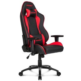 Cadeira Gamer AKRacing Nitro - Reclinável 180° - Construção em Aço - Preta e Vermelha - 10029-2