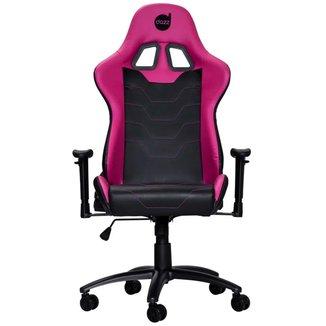 Cadeira Gamer Dazz Serie M - Encosto Reclinável - Rosa e Preta - 625170