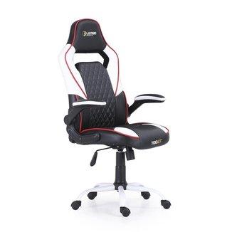 Cadeira Gamer Escritório Lambo Sports 700GT X20 White Ergonômica Giratória Altura Ajustável