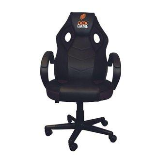 Cadeira Gamer GC200 Altura Ajustavél 100kg Preto