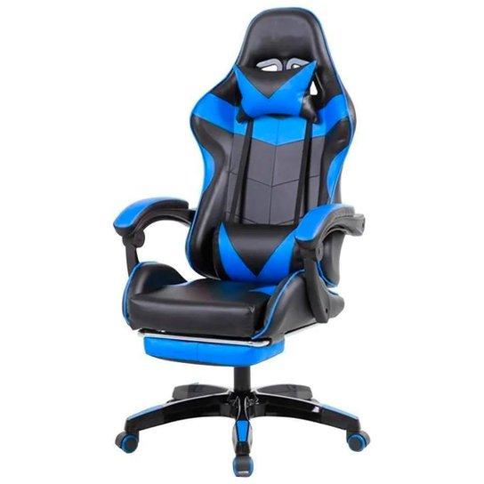 Cadeira Gamer PCTop PGB-001 - Azul - PGB-001-0077280-01 - Azul