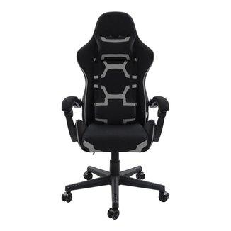 Cadeira Gamer Pelegrin Reclinável PEL-3018 Preta e Cinza