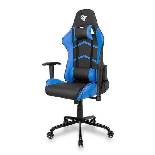 Cadeira Gamer Pichau Donek - Preto+Azul