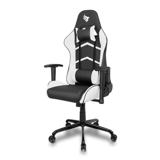 Cadeira Gamer Pichau Donek - Preto+Branco