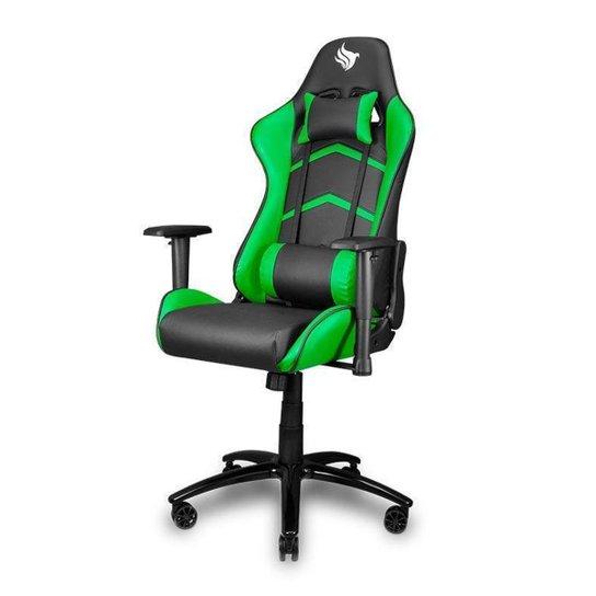 Cadeira Gamer Pichau Donek - Preto+verde