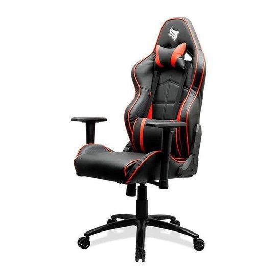 Cadeira Gamer Pichau Fantail - Preto+Vermelho