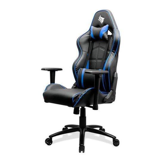 Cadeira Gamer Pichau Fantail - Preto+Azul