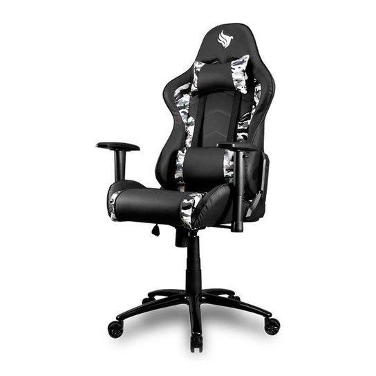 Cadeira Gamer Pichau Gallati Preto Camo Edition, BY-8146-CAMO - Preto