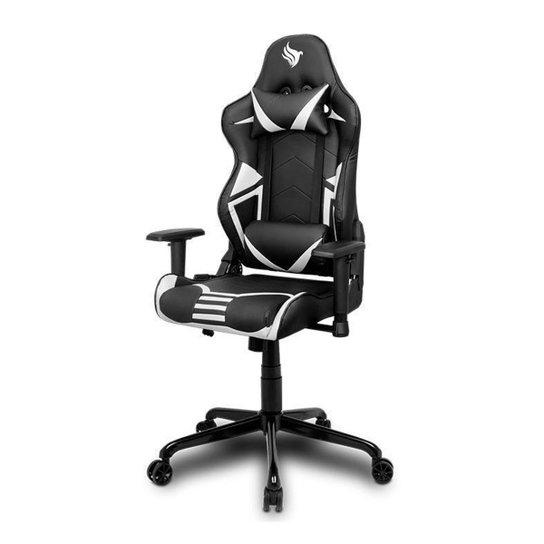 Cadeira Gamer Pichau Stellar Branca, BY-1028WHITE - Branco