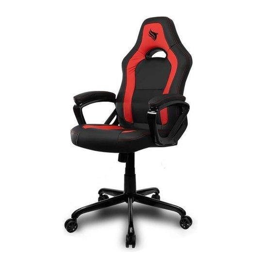 Cadeira Gamer Pichau Tippler  BY-8105- - Vermelho