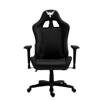Cadeira Gamer Raven X-10, Estrutura em metal, braço 4D, encosto reclinável até 180° Preta