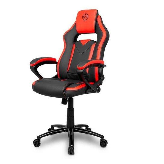 Cadeira Gamer TGT Blade Vermelha, TGT-BLD-RED - Vermelho+Preto