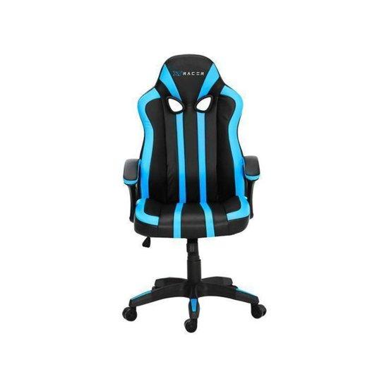 Cadeira Gamer XT Racer Reclinável - Preto+Azul