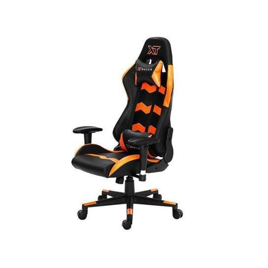 Cadeira Gamer XT Racer Reclinável - Preto+Laranja