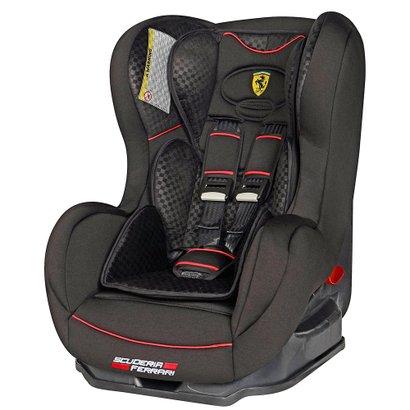 A Cadeira Para Auto - Cosmo SP - Ferrari Black possui a garantia e o alto e0db612dd67