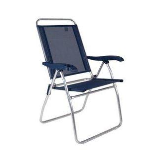 Cadeira Reclinável Boreal Azul Claro